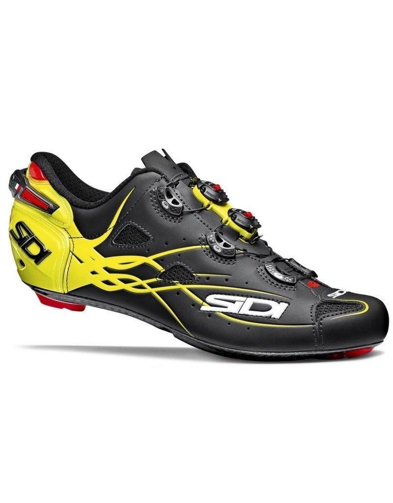 Sidi Sidi Shoes Shot Matte Black / Fluo Yellow