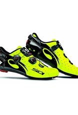 Sidi Shoes Sidi Wire Vent Carbon Yellow Fluo / Black