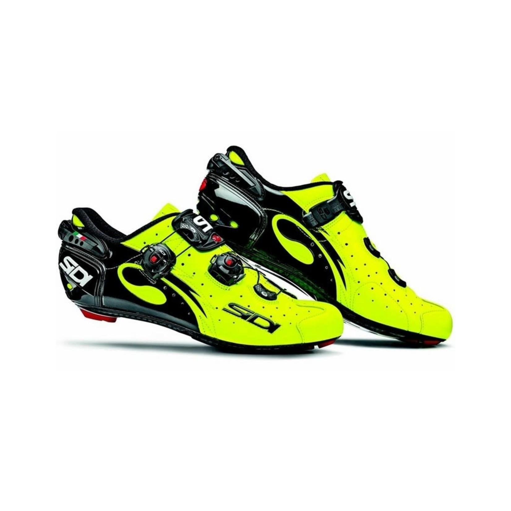 Sidi Shoes Sidi Wire Vent Carbon Yellow Fluo / Black