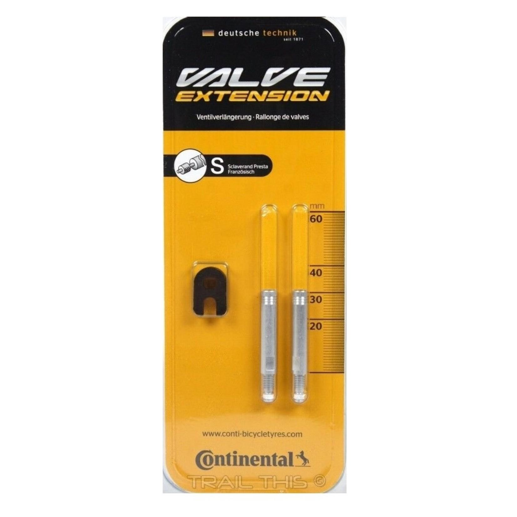 Continental Valve Extender Continental - 30mm / 2PK