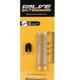 Continental Valve Extender Presta Continental 60mm / 2PK