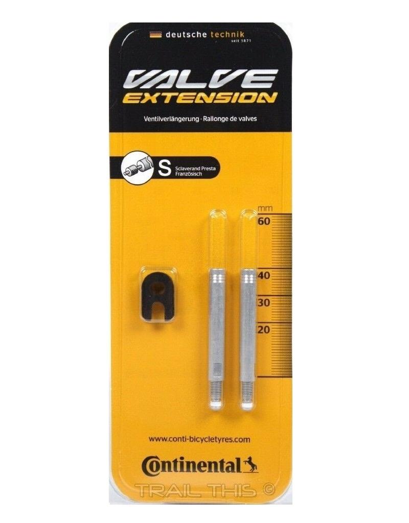 Continental Valve Extender Continental - 40 mm / 2 pk