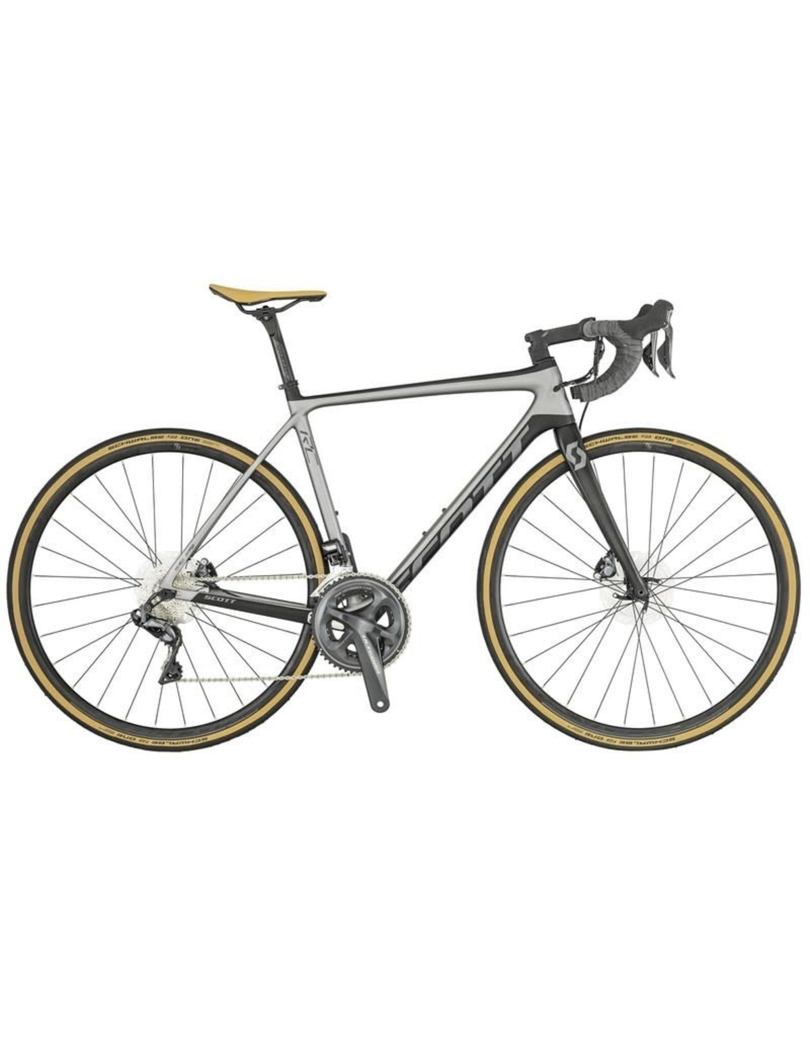 SCOTT BICYCLES Bike Scott Addict RC 15 disc (TW) Grey/Black 2019