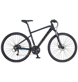 SCOTT BICYCLES Bike Scott Sub Cross 40 Men Black/Blue