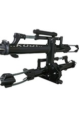 "Kuat Kuat NV 2.0 2-Bike Tray Hitch Rack: Metallic Black and Chrome, 2"" Receiver"