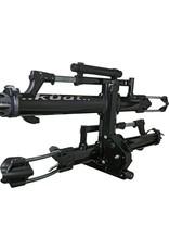 "Kuat Kuat NV 2.0 2-Bike Tray Hitch Rack: Metallic Black and Chrome, 2"" Receiver"