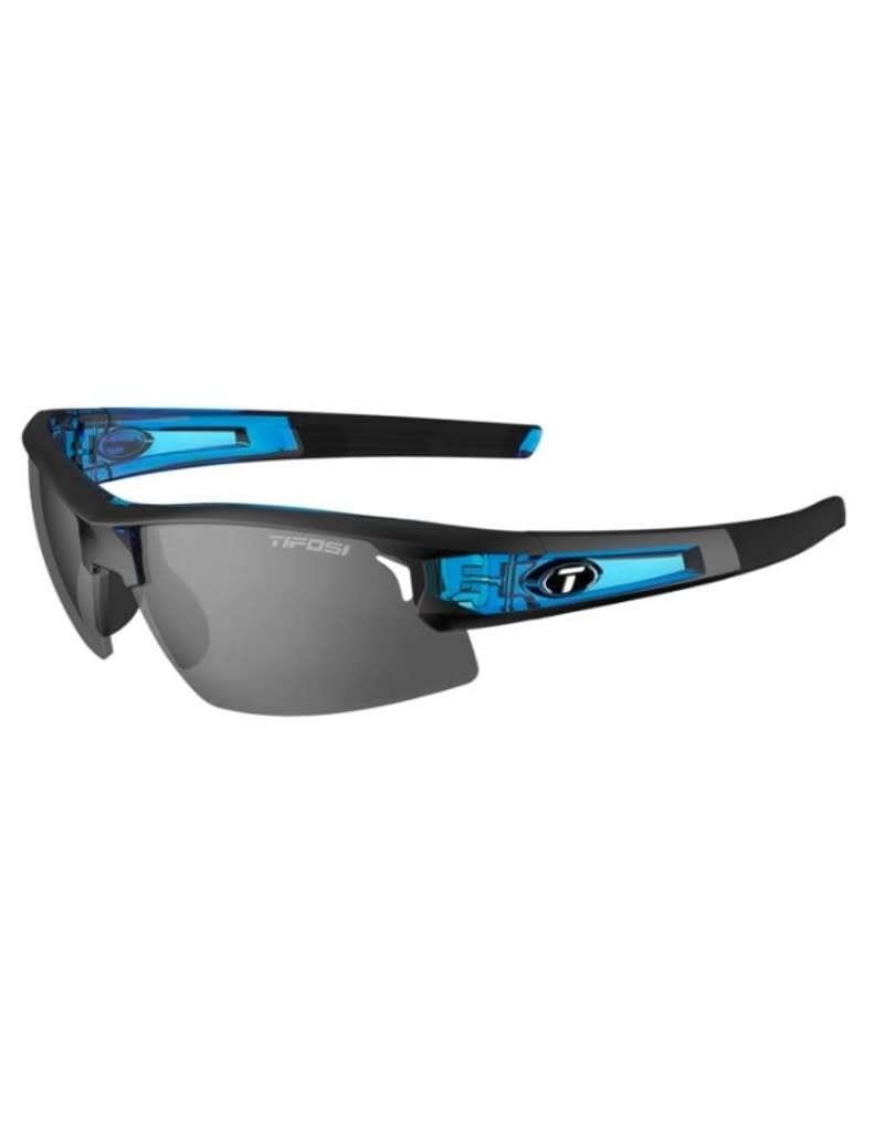 TIFOSI OPTICS Sunglasses Tifosi Synapse Crystal Blue Interchangeable Smoke/AC Red/Clear