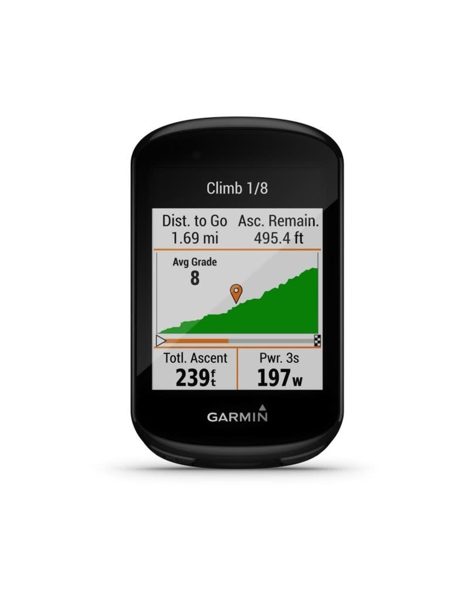 Garmin Computer Garmin Edge 830 Bundle GPS HR Chest Cadence Black