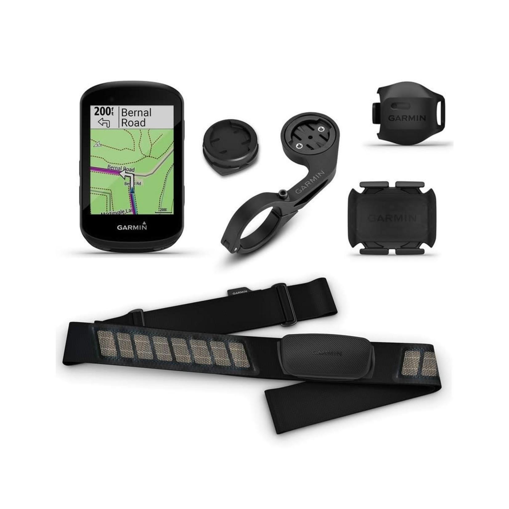 Garmin Computer Garmin Edge 530 Bundle GPS HR Cadence Black
