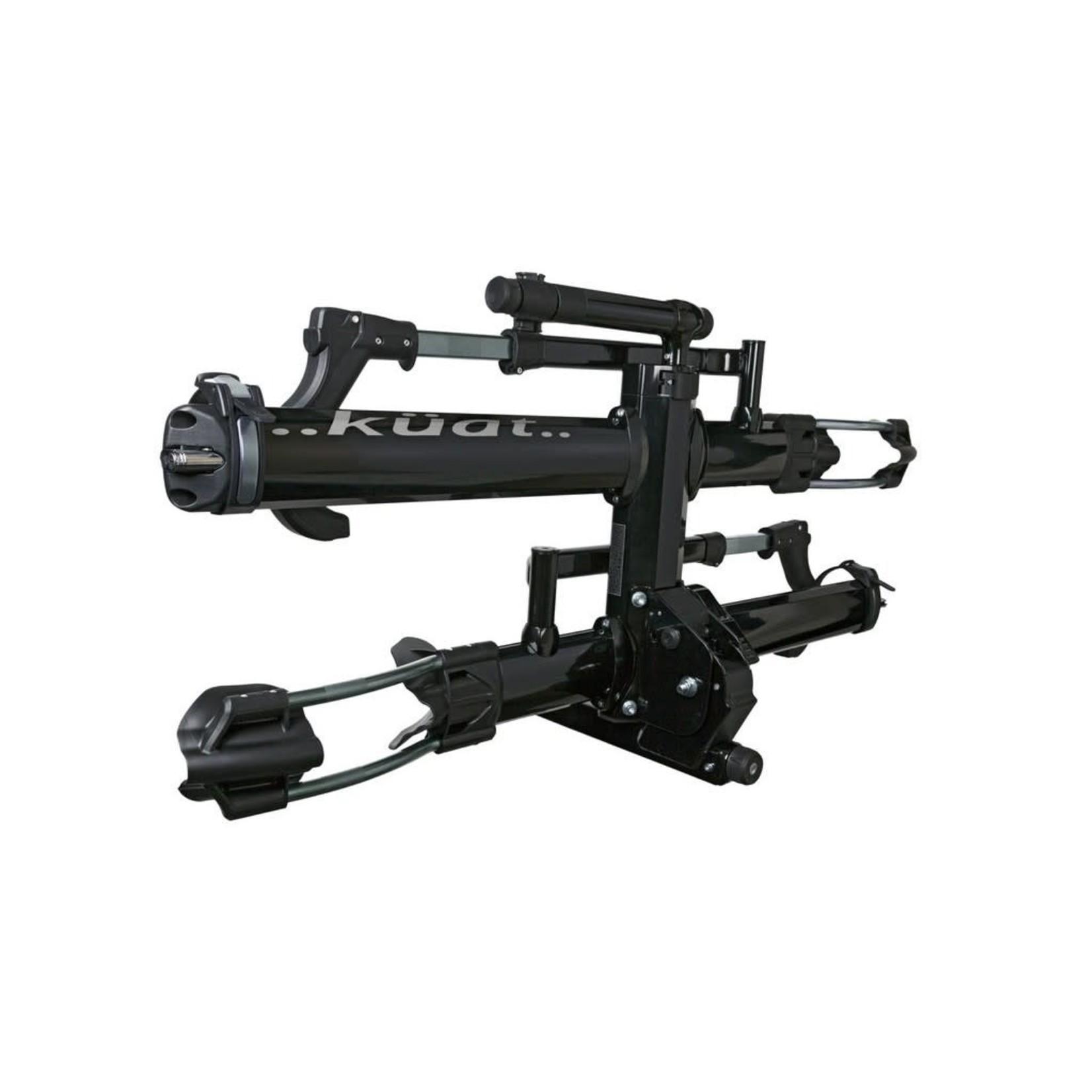 "Kuat Rack Kuat NV 2.0 2"" 2-Bike Black Metallic and Gray Anodize"
