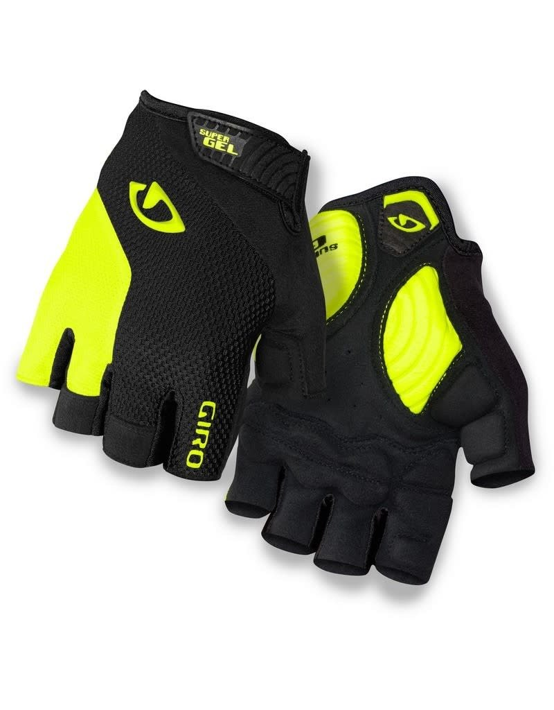 Giro Gloves Giro Stradedure Super Gel Black/Highlight Yellow