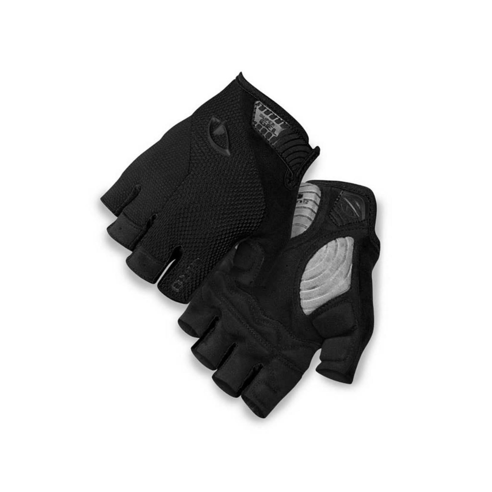GIRO Gloves Giro Stradedure Supergel Black