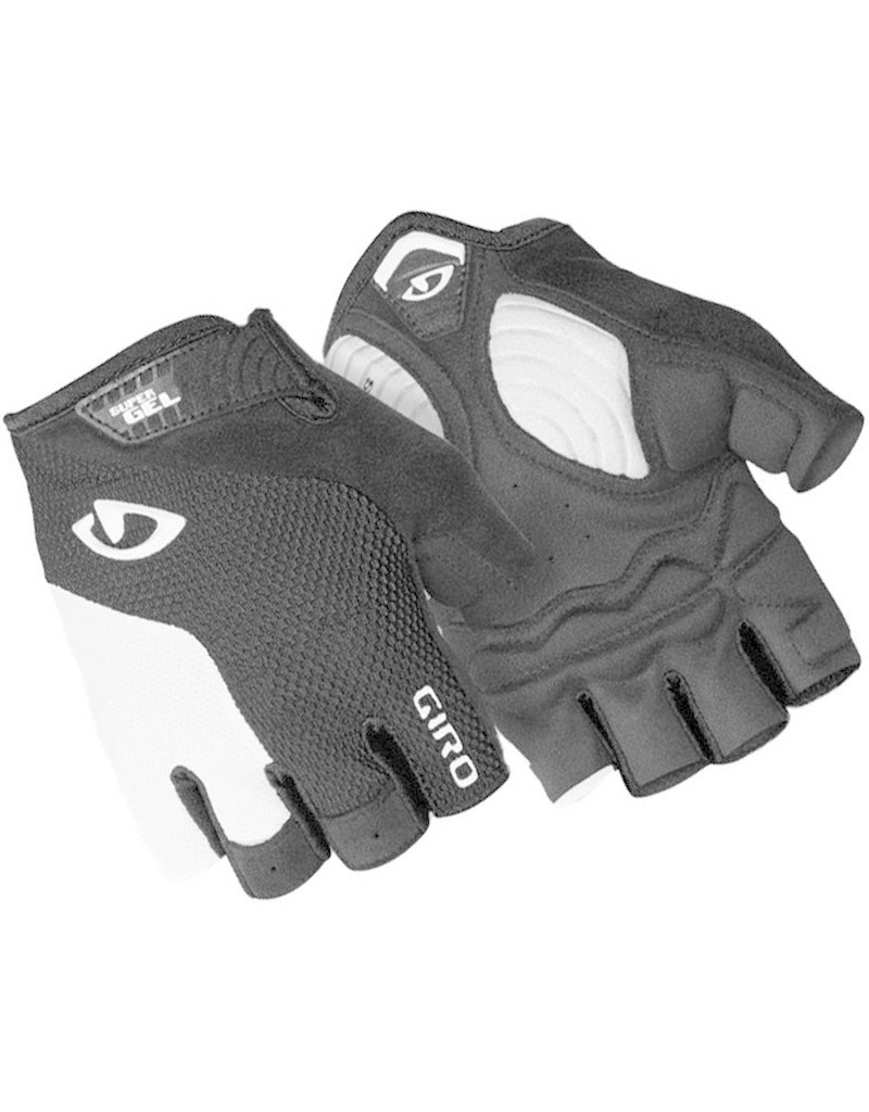 Giro Gloves Giro Stradedure SuperGel White/Black