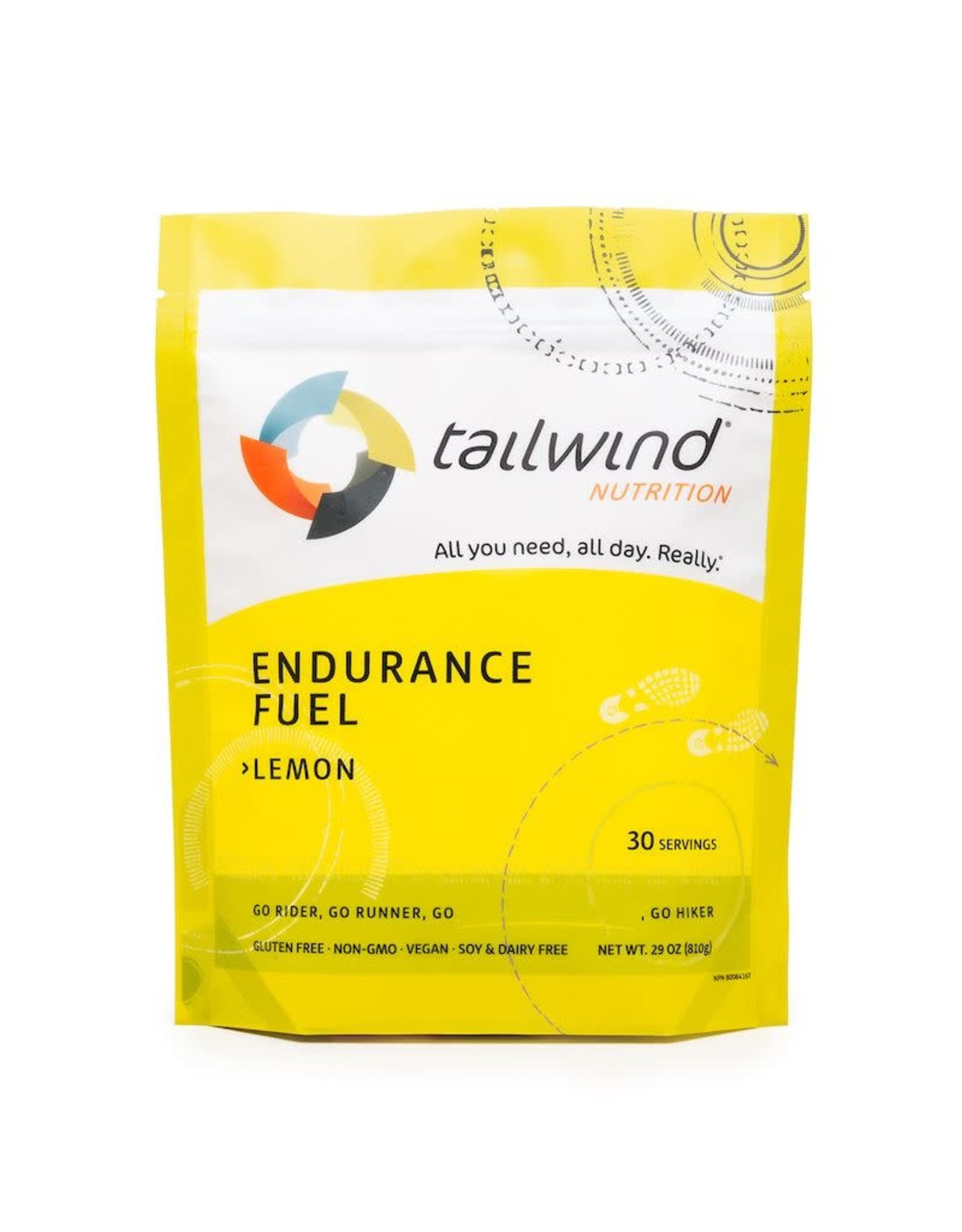 Tailwind Nutrition Endurance Fuel Tailwind Lemon (30 servings)