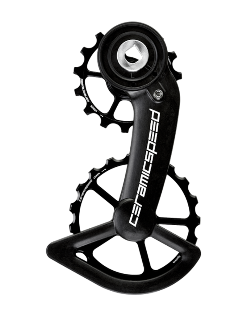 CeramicSpeed OPWS CeramicSpeed for SRAM Red/Force AXS Coated Alloy Pulley Carbon Cage Black