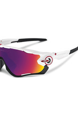 Oakley Oakley Jawbreaker Polished White w/ Prizm Road