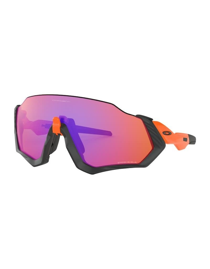 Oakley Oakley Flight Jacket Neon Orange Prizm Trail
