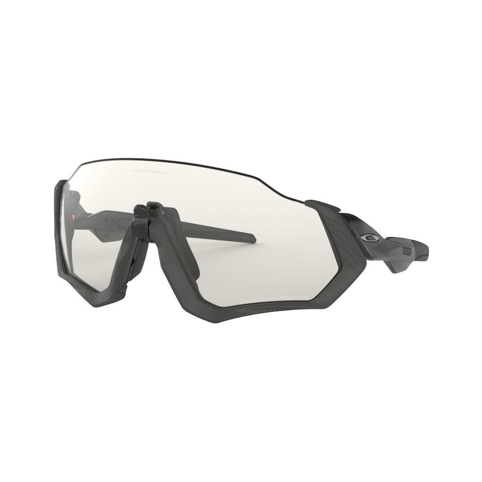 Oakley Oakley Flight Jacket Steel Black Ink Clear Black Iridium Photocromatic