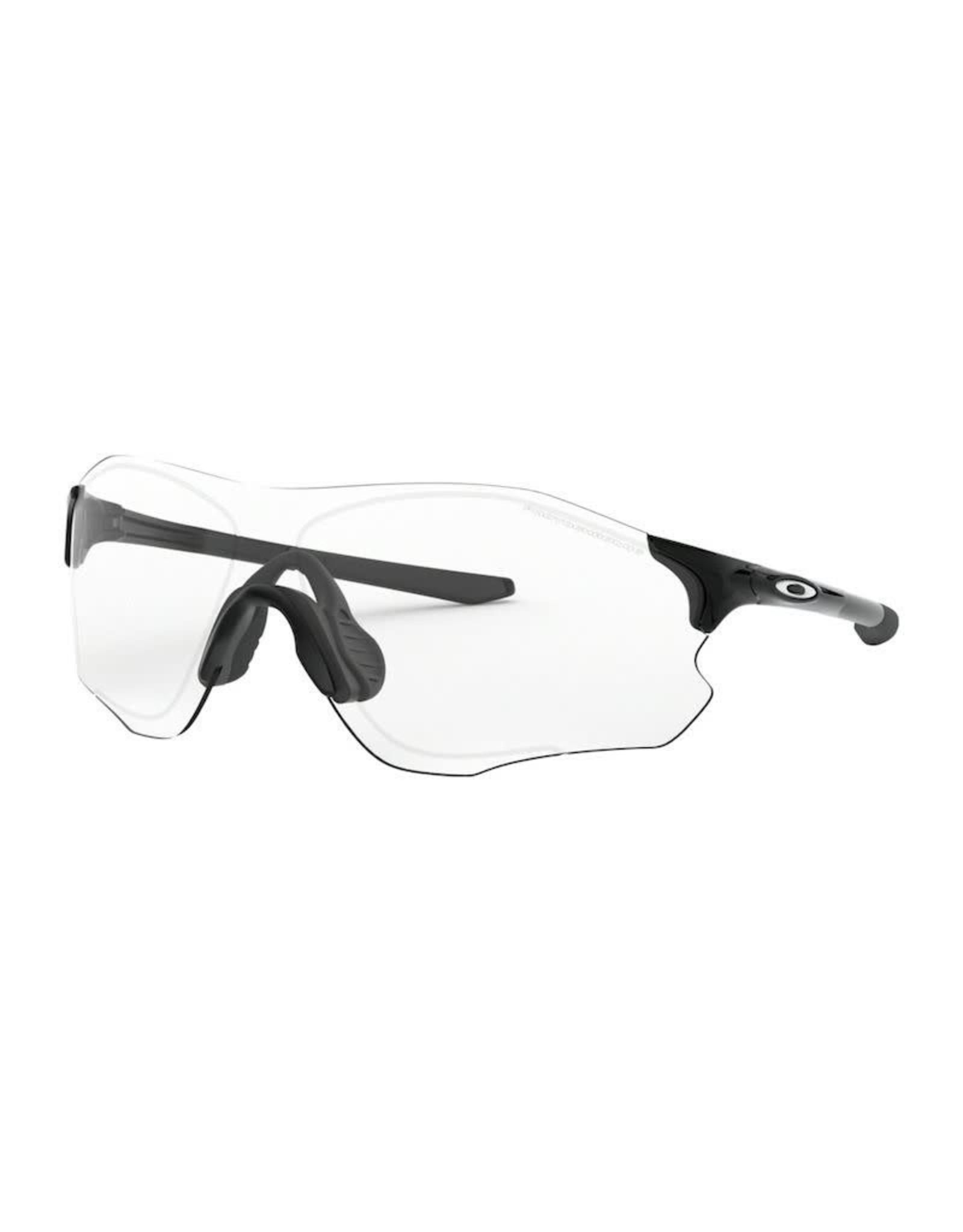 Oakley Oakley EVZero Path Polished Black With Clear Black Photochromatic Polished Black/Clear Black Iridium Transitions