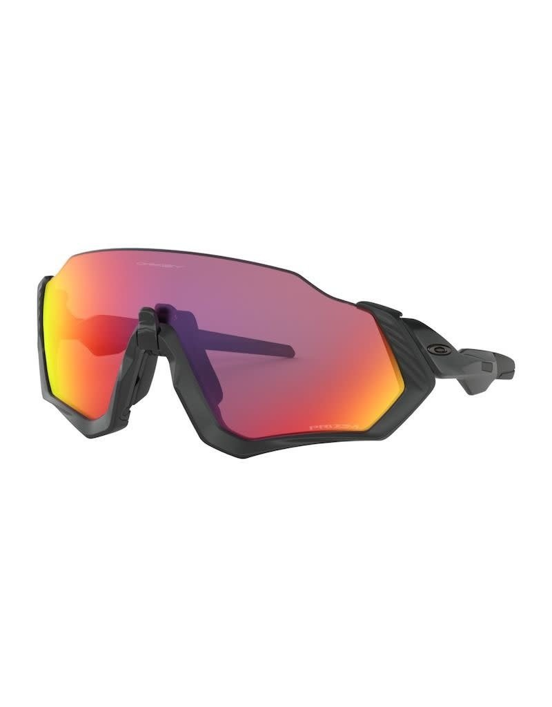 Oakley Oakley Flight Jacket Matte Steel Prizm Trail Torch