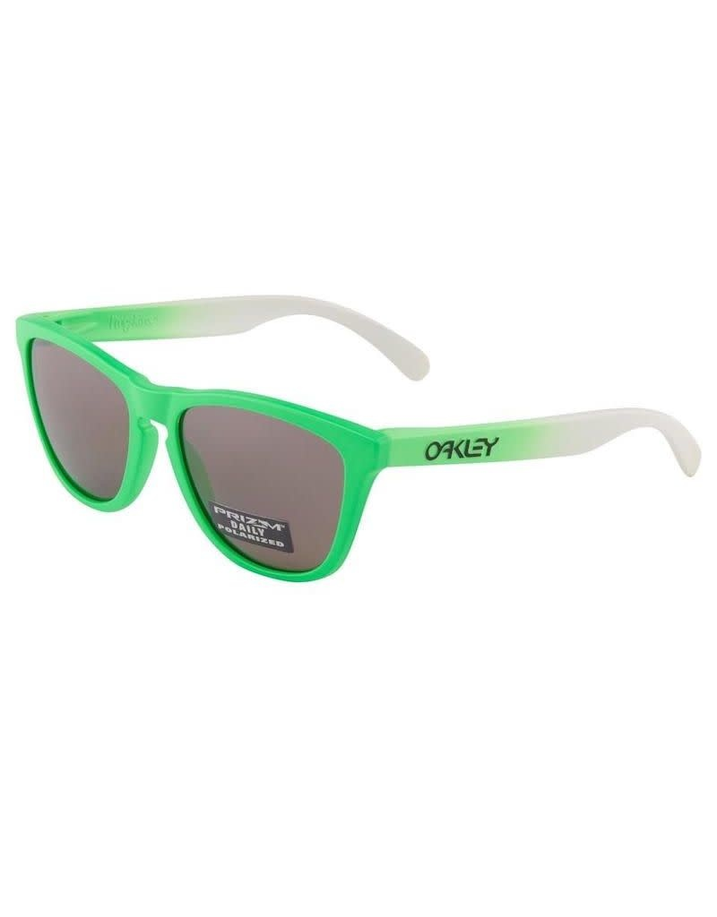 Oakley Oakley Frogskins Green Fade Collection Prizm Daily Polarized