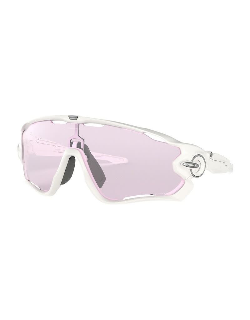 Oakley Oakley Jaw Breaker Polished White Prizm Low Light