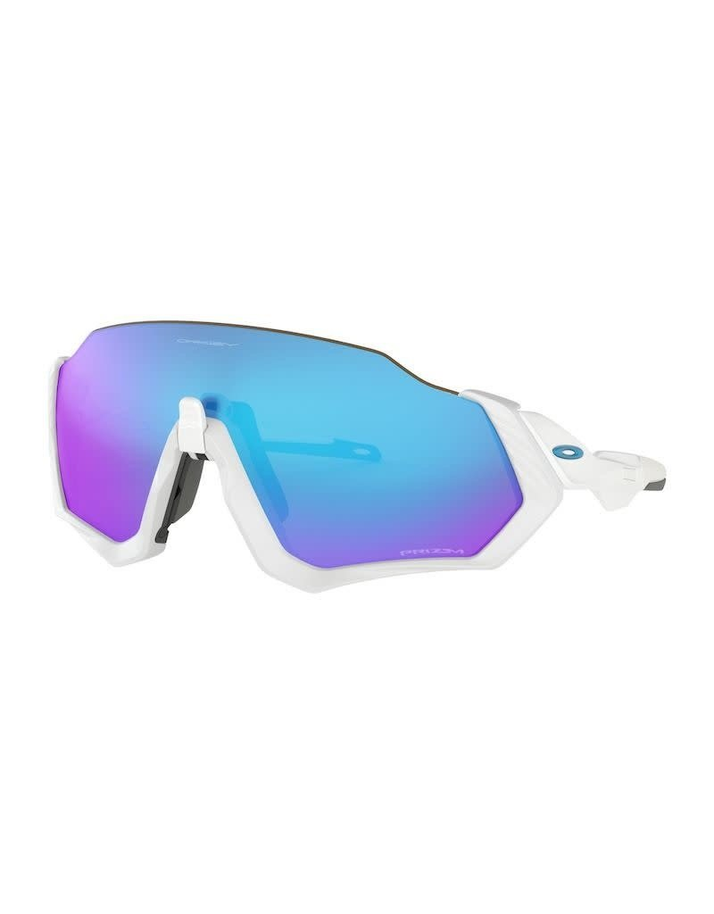 Oakley Oakley Flight Jacket Polished White Prizm Sapphire Iridium