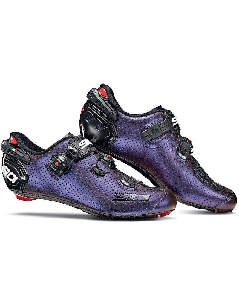 Sidi Shoes Sidi Wire 2 Carb Air (Limited Edition) Blue/Red Iridescent
