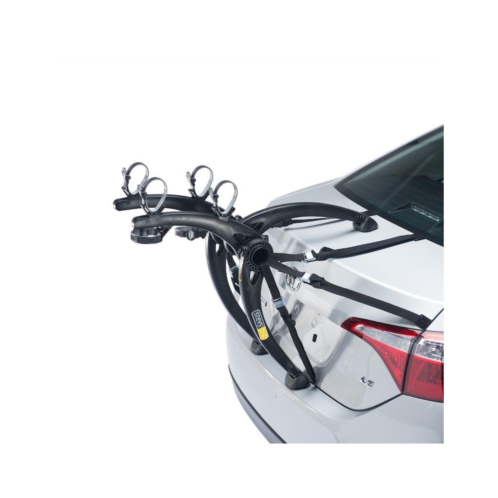Saris Car Rack Saris Bones Trunk 2-Bike Black