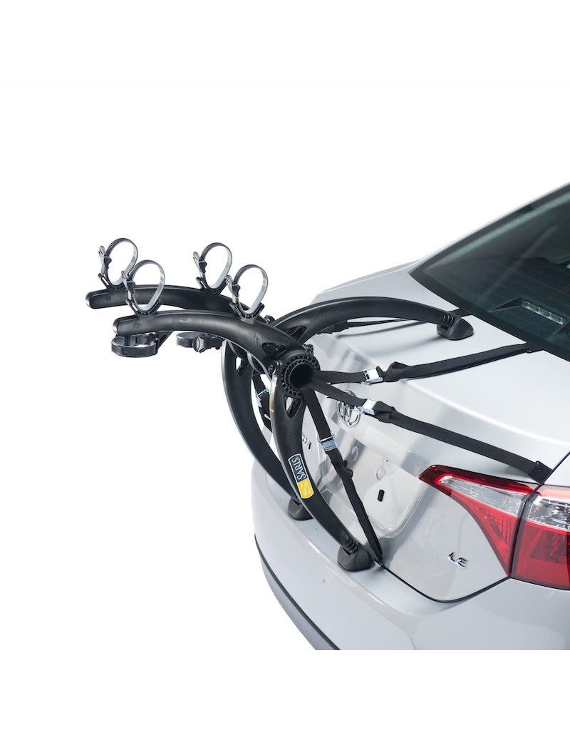 Saris Car Rack Saris Bones Trunk 2-Bike Black