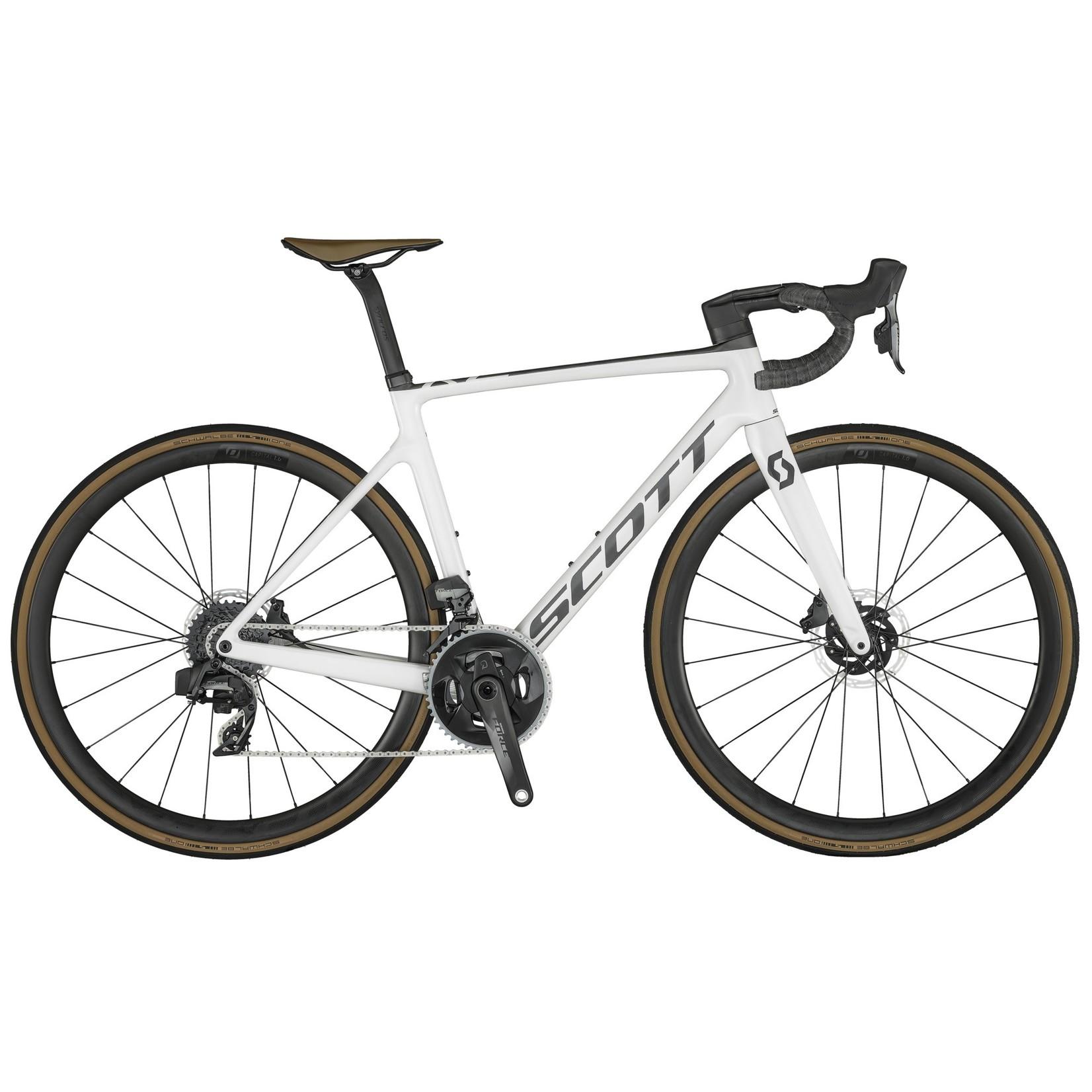 SCOTT BICYCLES Bike Scott Addict RC 10 Pearl White