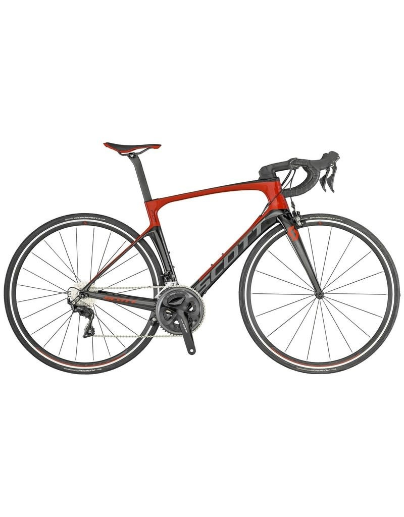 SCOTT BICYCLES Bike Scott Foil 30 (TW) Black Red 2019