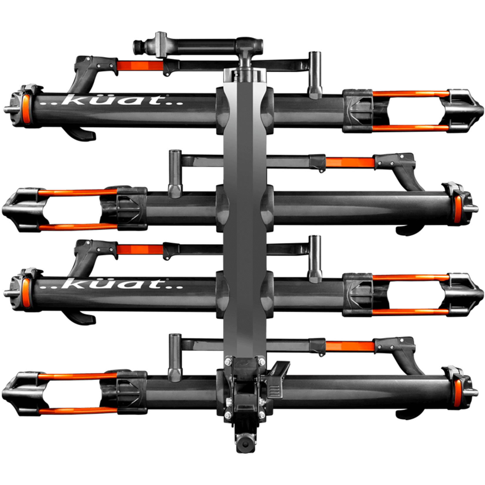 Kuat Rack Kuat Add-On 2 bikes for NV 2.0 2'' Receiver only  Grey Orange Anodize