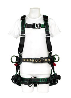 buckingham mfg bucktech fr harness w seat fall protection equipment safety one pro shop