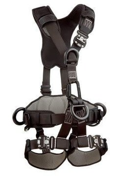 3M Fall Protection ExoFit NEX™ Rope Access/Rescue Harness, Black-Out