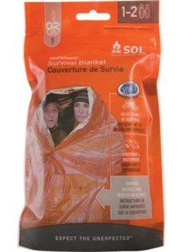 SOL Survival Blanket 2pr