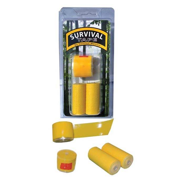 Liberty Mountain Survival Tape, Yellow, 3pk