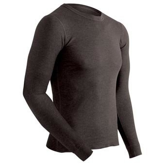 COLDPRUF Polypropylene Base Layer Top, Mens, Black