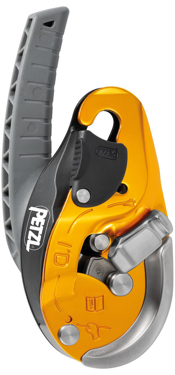 Petzl America 2019 I'D Evac Descender 10-11.5 mm