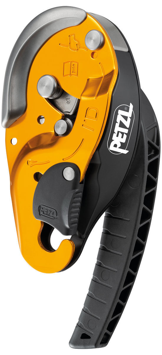 "Petzl America I'D Descender S 7/16"" / 11mm"
