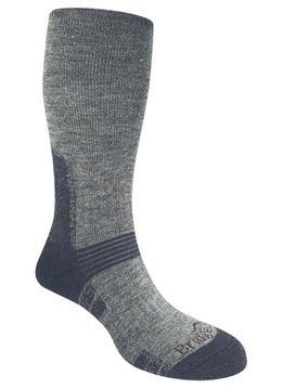 BRIDGEDALE Heavyweight Gray/Blue Wool Socks