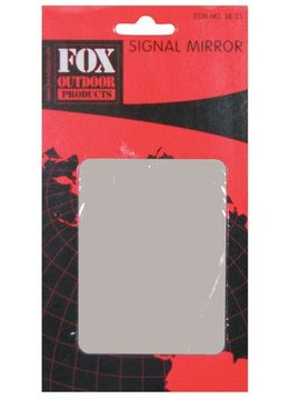Military Surplus Fox Outdoor Products Camper's Signal Mirror