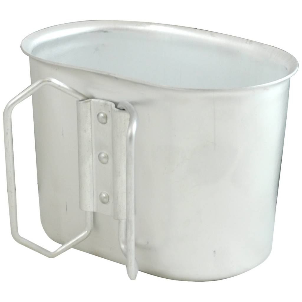 Military Surplus Aluminum Canteen Cup