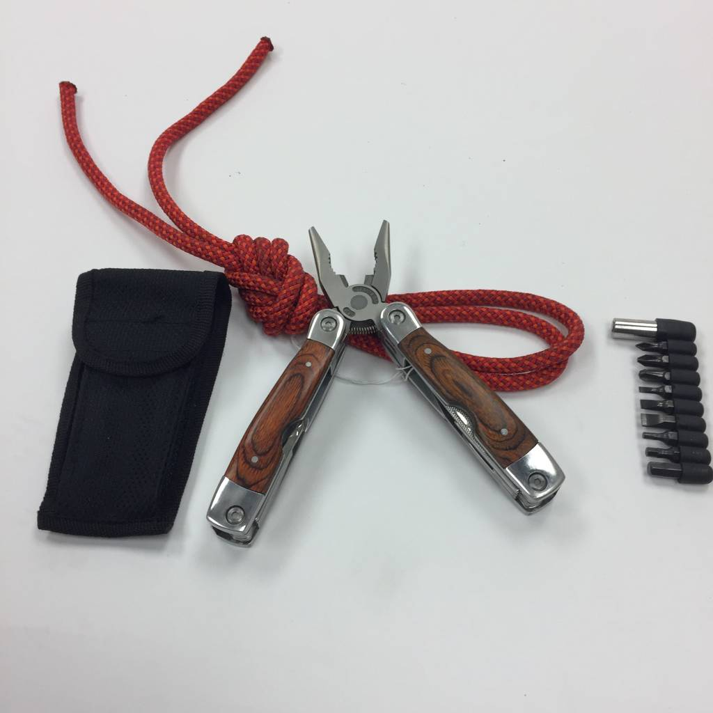 Military Surplus Fury Multi-Tool, Pakkawood Handle