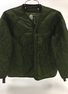 Military Surplus Quilted Liner, Green