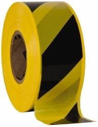 Uline Striped Signal Tape