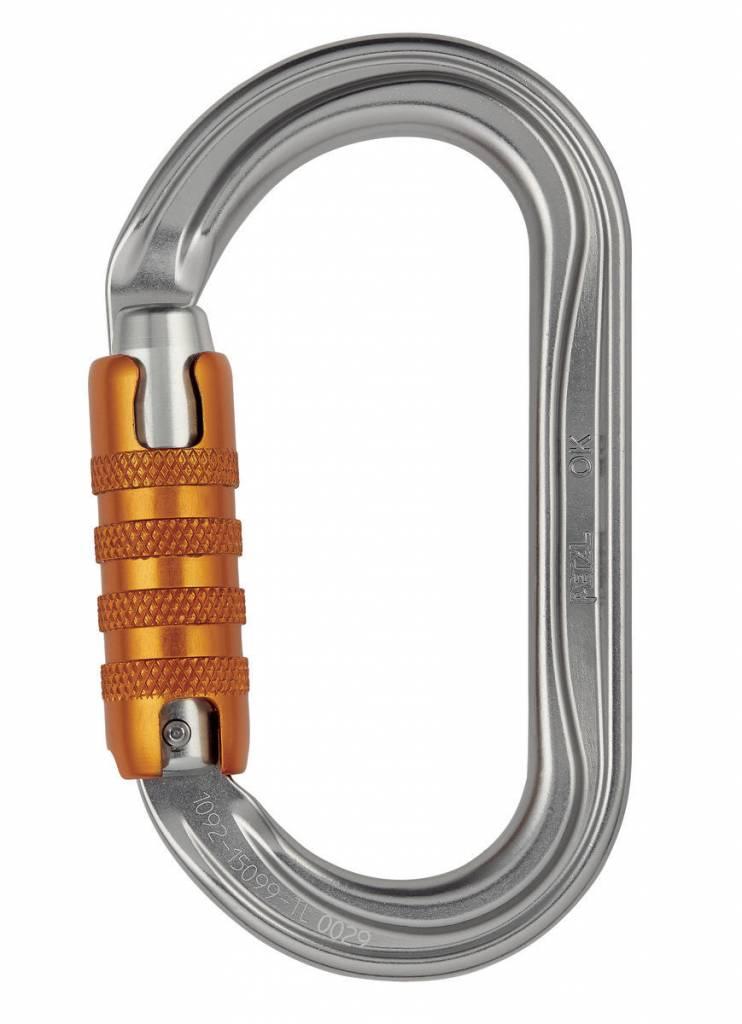 Petzl America OK H-Frame carabiner, triact-lock