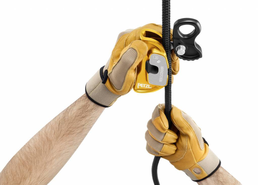 Petzl America RESCUCENDER cam-style rope grab, NFPA 10-13mm -