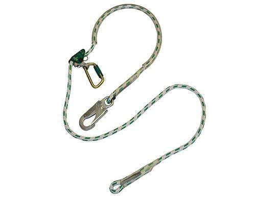 Buckingham Mfg Buckadjuster, adjustable positioning lanyard