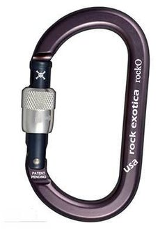 Rock Exotica rockO Carabiner - Screw Lock